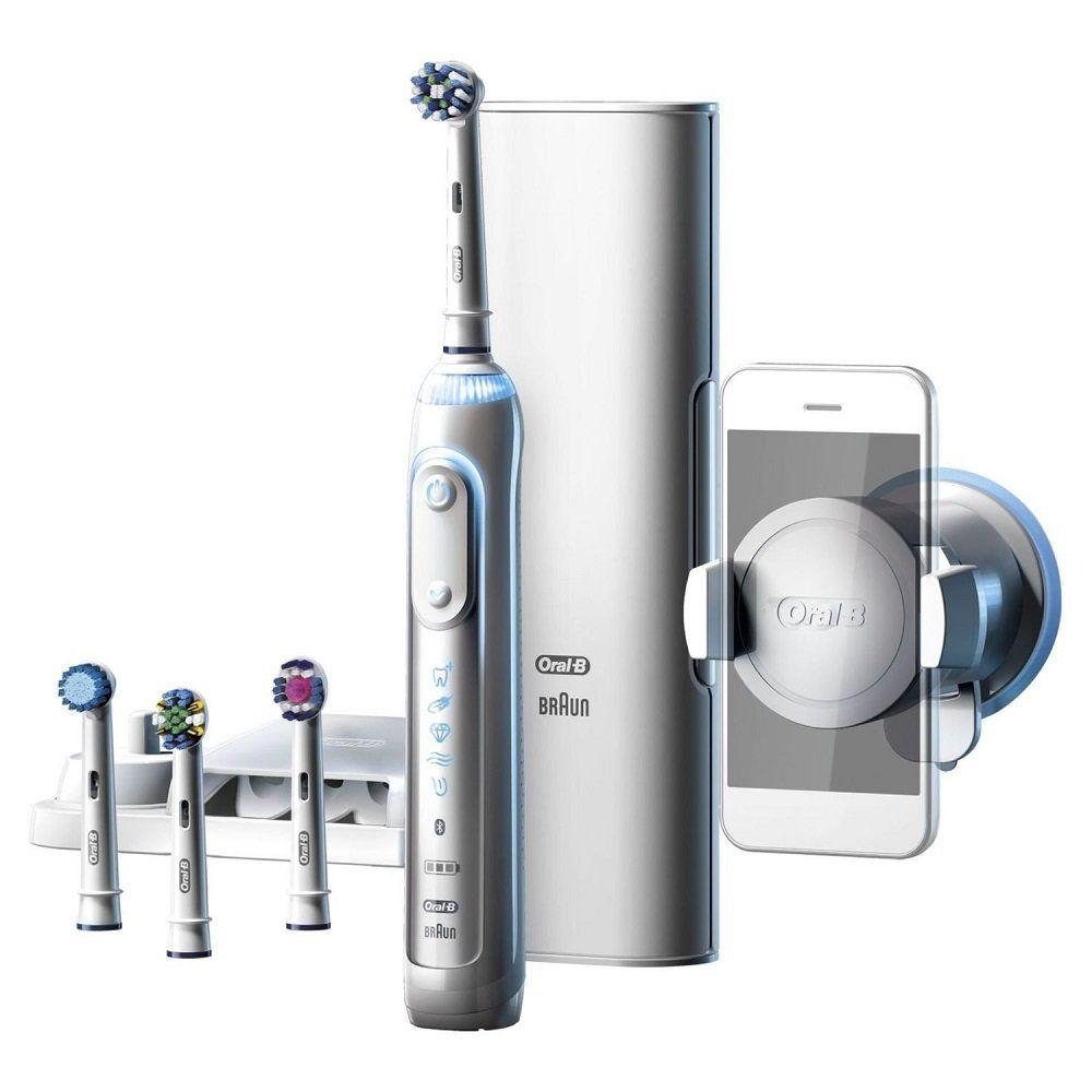 Зубна щітка Oral-B Genius 9000 White D 701.545.6XC 3050a652663ed