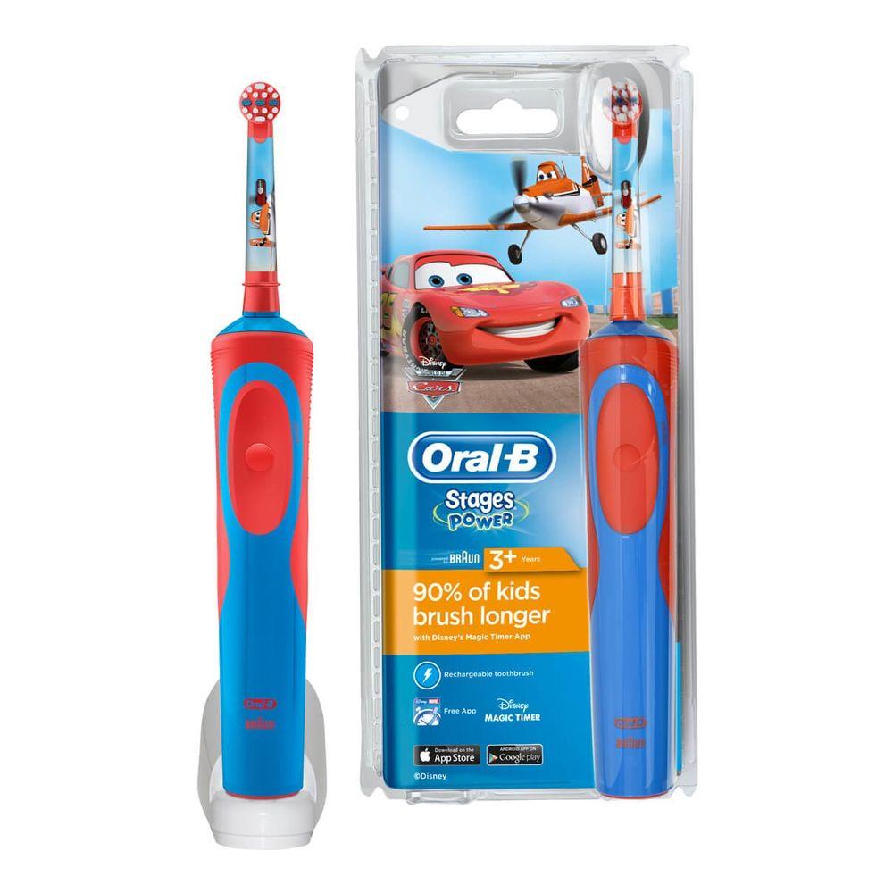 Зубна щітка дитяча Oral-B Braun D 12.513 Cars Тачки  3203610dd1f1a