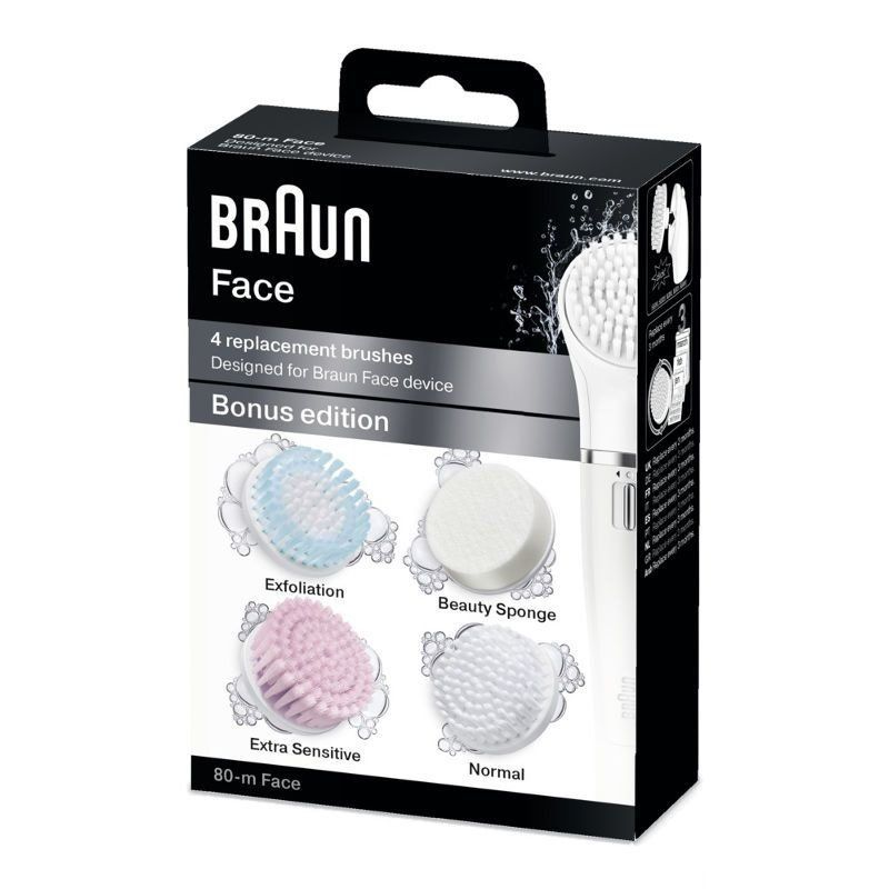 braun Набор насадок-щеток Braun 80m Face