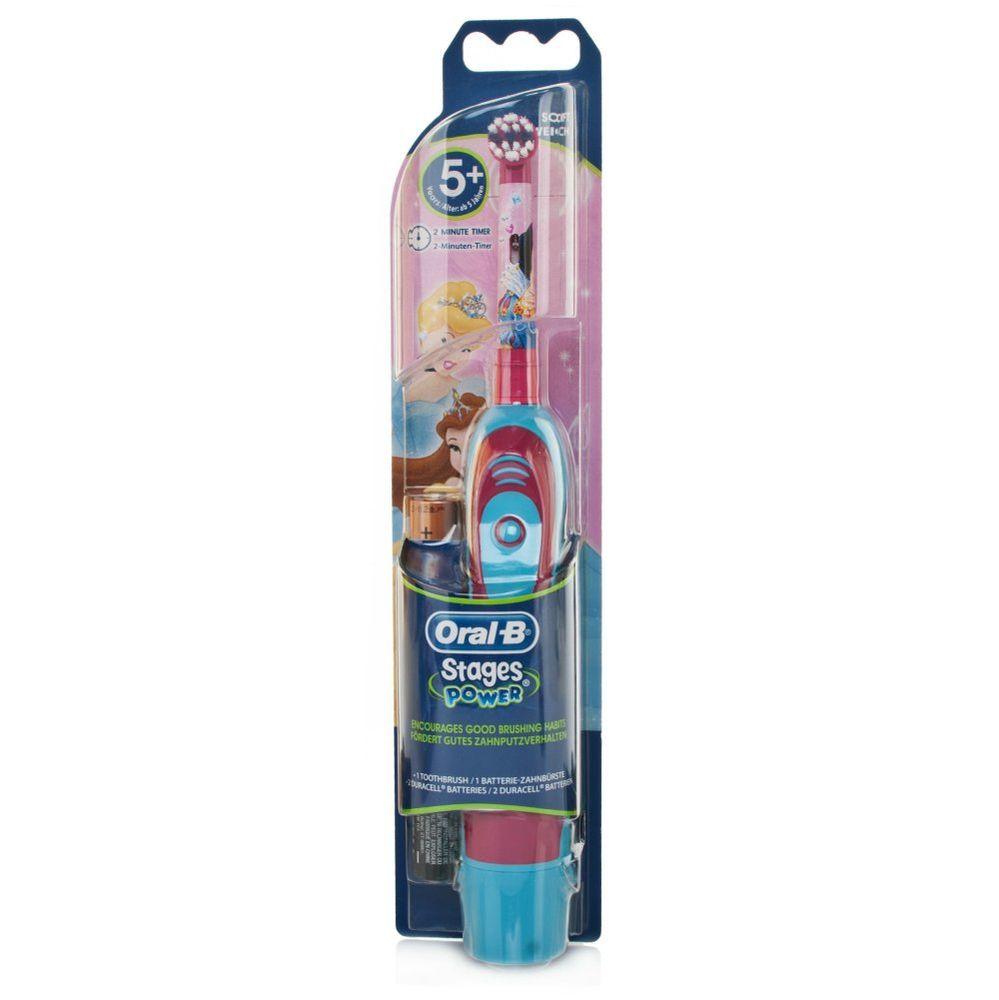 Зубна щітка Oral-B Braun DB 4010 Stages Power Принцесса ціна e795f3a4983b7