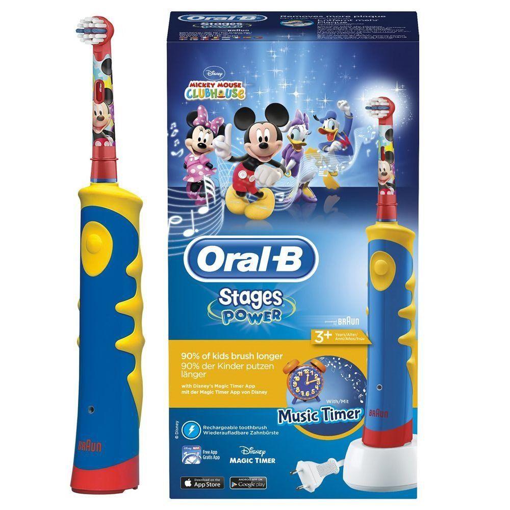 Зубна щітка детская Oral-B D 10.513 ORAL-B Електричні зубні щітки ... 2808afe8d5065