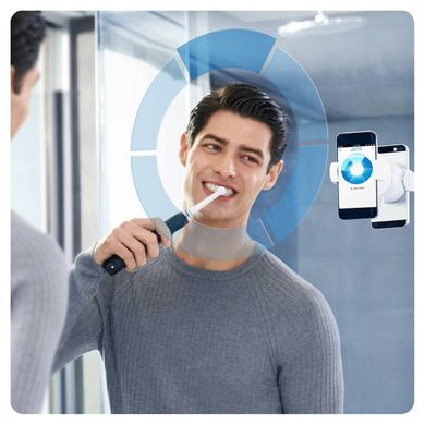 Зубная щетка Oral-B Genius 10000N Midnight Black D701.525.6XC