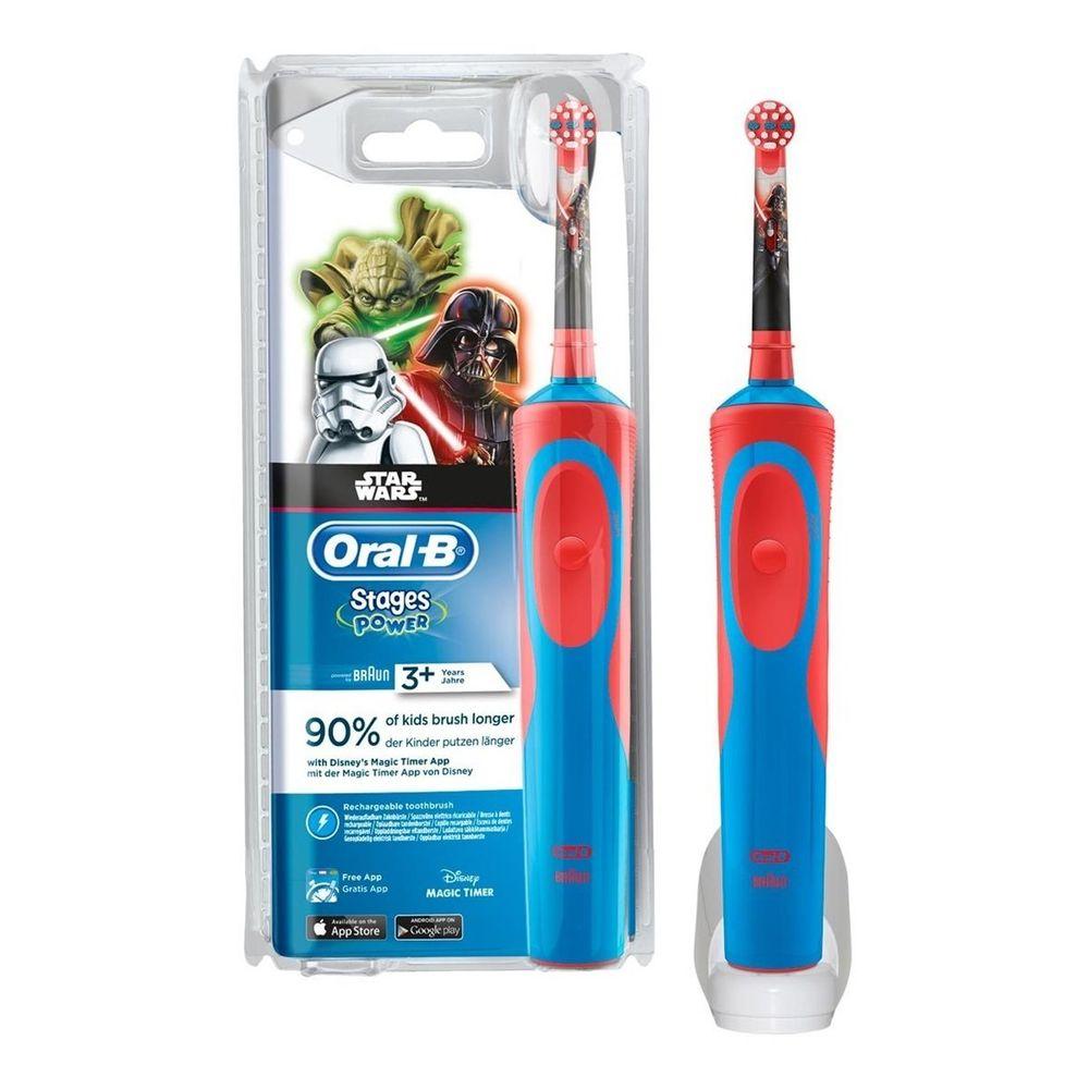 Зубна щітка дитяча Oral-B Braun D 12.513 Star Wars Зоряні війни ... 4a3088988c406