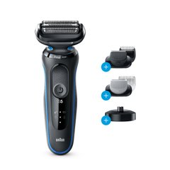 Электробритва Braun Series 5 50-B4650cs BLACK / BLUE Wet&Dry