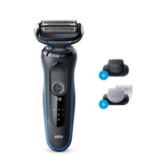 Электробритва Braun Series 5 50-B1620s BLACK / BLUE Wet&Dry