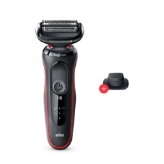 Электробритва Braun Series 5 50-R1200s BLACK / RED Wet&Dry